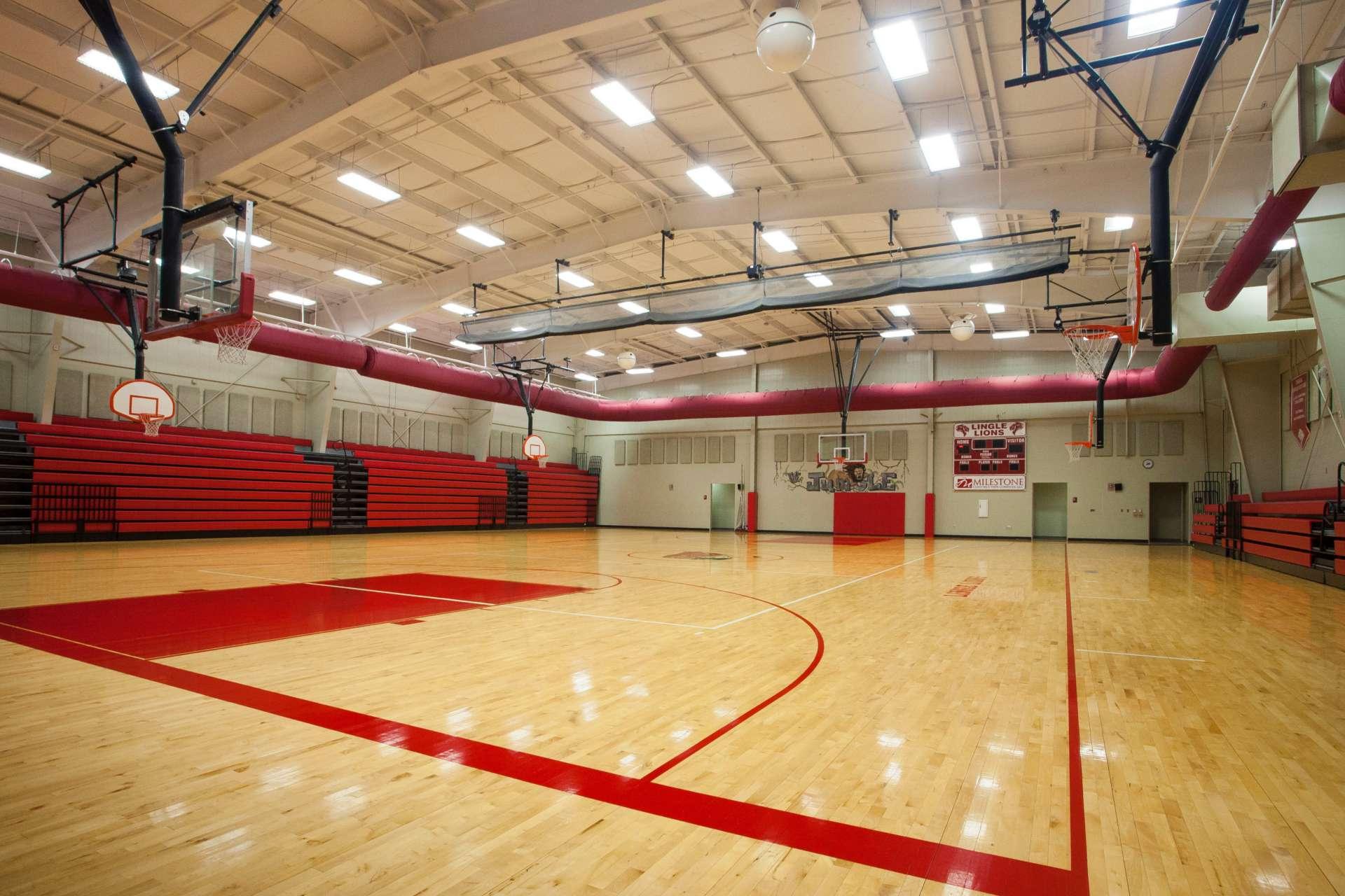 Greer Lingle Middle School Gymnasium Milestone